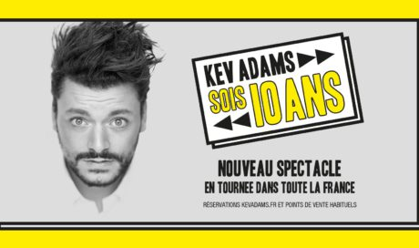 Kev Adams – Tournée 2018