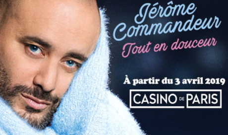 Jerôme Commandeur – Casino de Paris